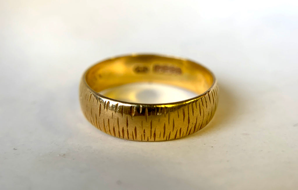 Martha's Mother-in-law's wedding band