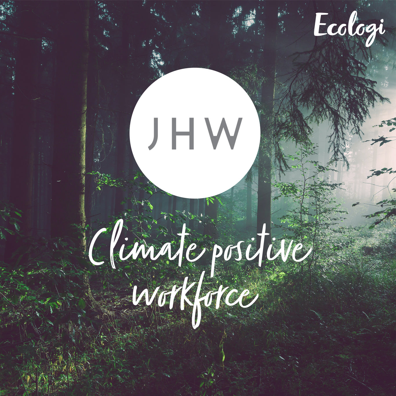 JHW and Ecologi - Climate positive workforce