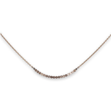 31mm hex bar necklace