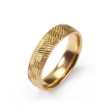 5mm Domed Contour Ring