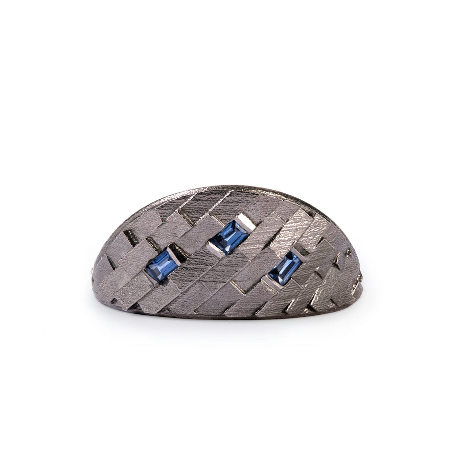 Large Di-Parquet horizon ring