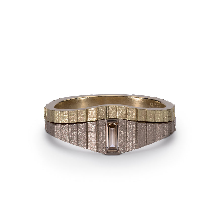 Tapered square and partner band