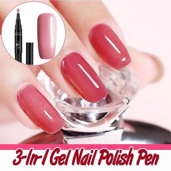 3-In-1 Gel Nail Polish Pen