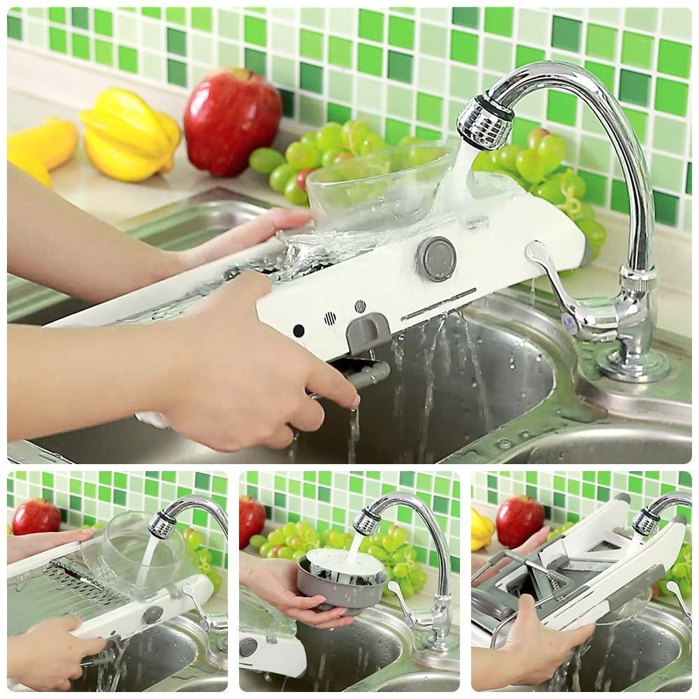 Multi-Functional Vegetable Slicer