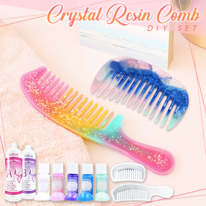 Crystal Resin Comb DIY Set