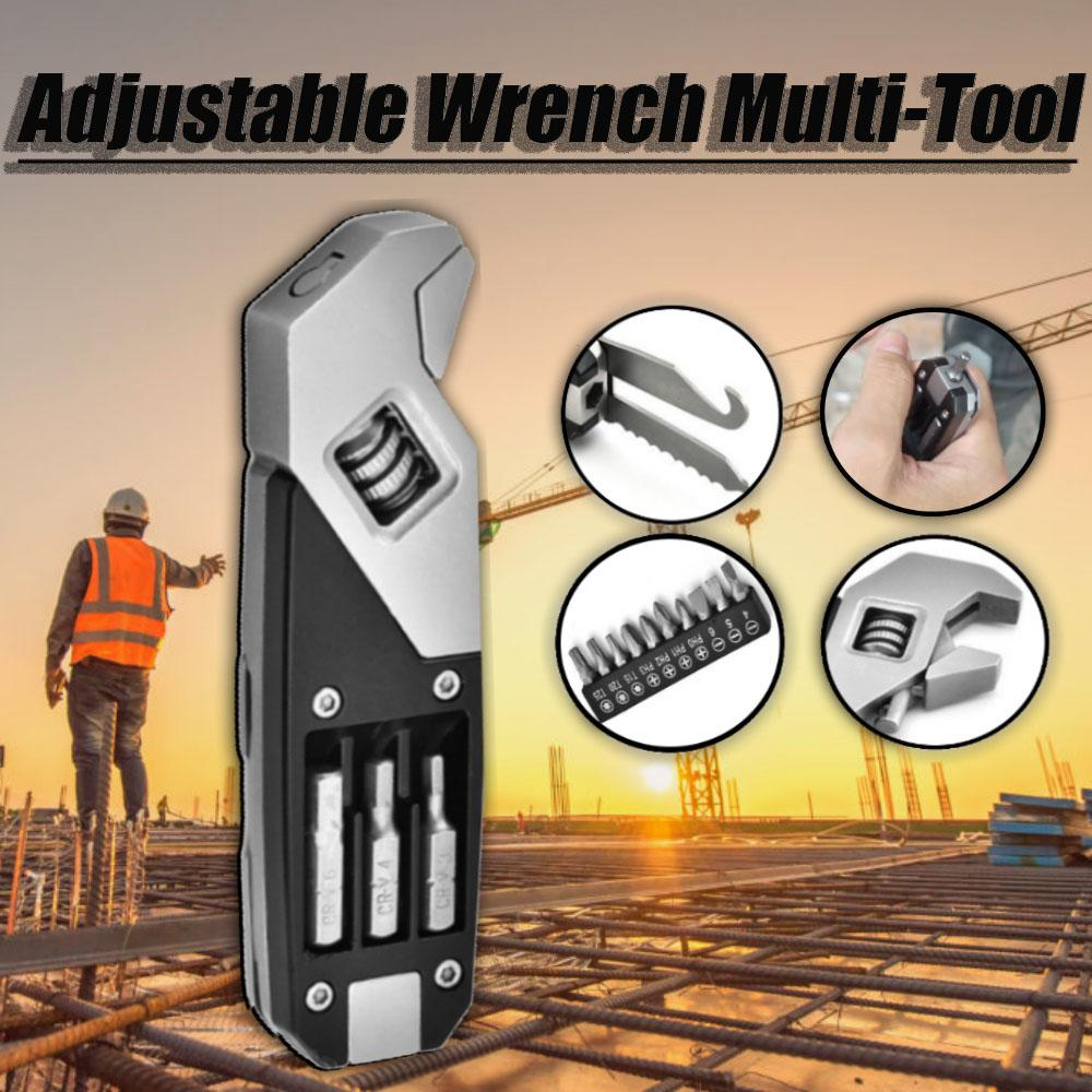 Adjustable Wrench Multi-Tool