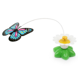 Interactive Bird or Butterfly Toy For Cats