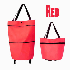 Foldable Trolley Shopping Bag