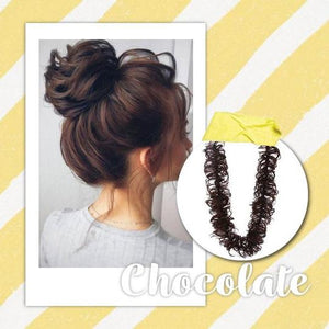Fluffy Hair Extension Wrap