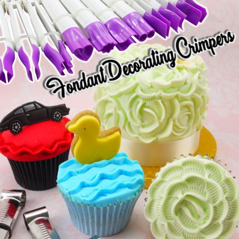 Fondant Decorating Crimpers