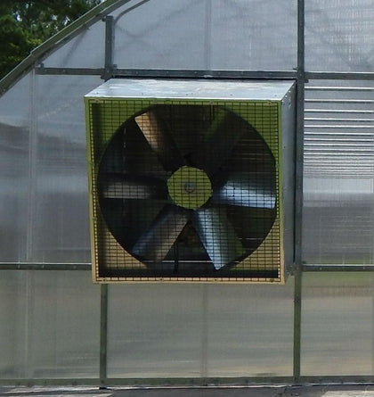Galvanized Angle Flow Fans