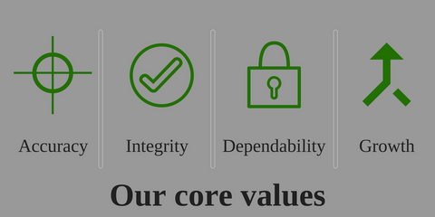 JCM Greenhouse Mfg. core values