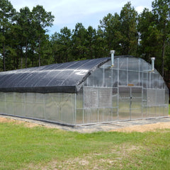 Light deprivation greenhouse kit