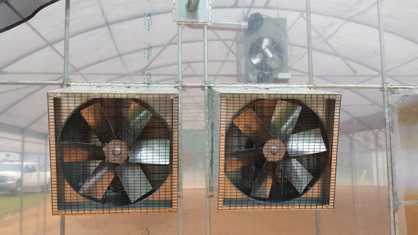 Aluminum Angle Flow Fan 38""