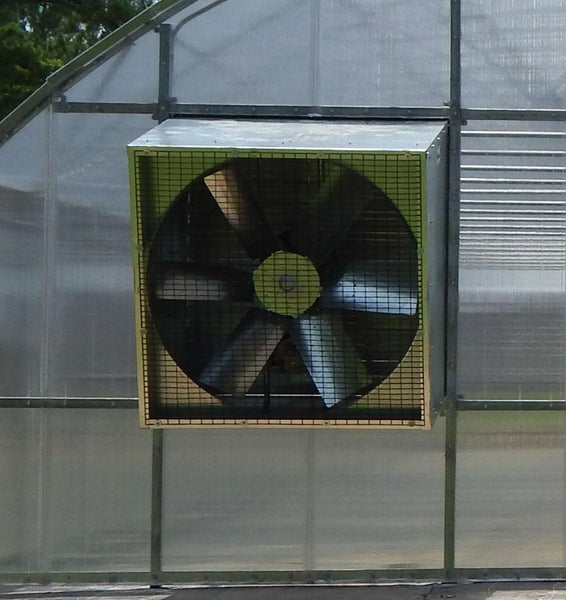 Galvanized Angle Flow Fan-24""