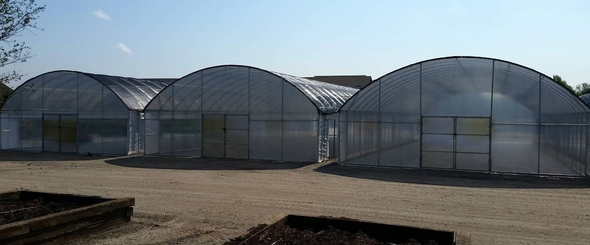 Free standing high tunnels