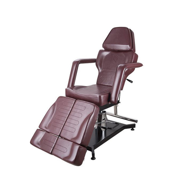 TATSOUL 370-S Client Chair - OX BLOOD