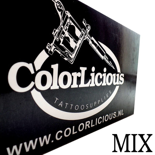Colorlicious Mix (50st) -  Basic Tattoo Naalden