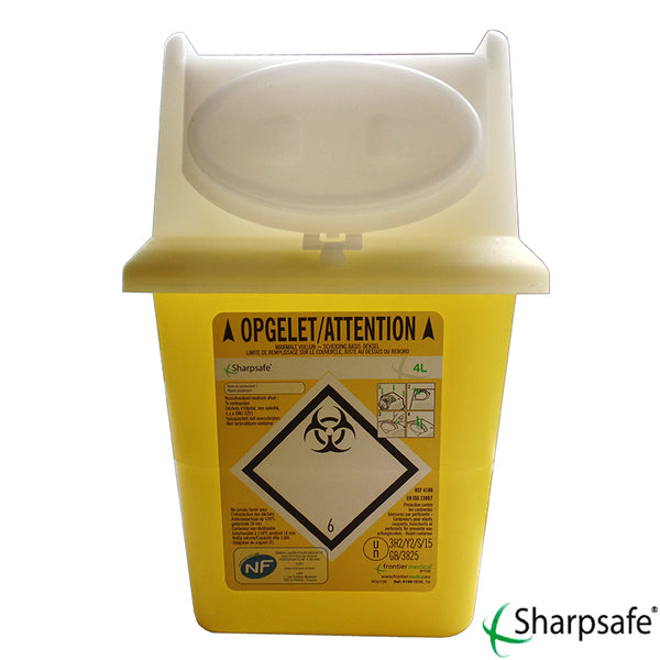 Sharpsafe Naaldencontainer 4L