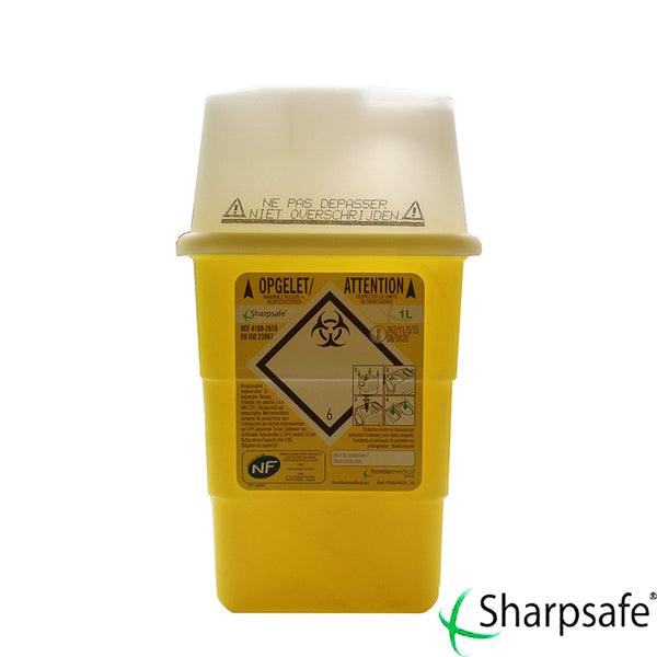 Sharpsafe Naaldencontainer 1L