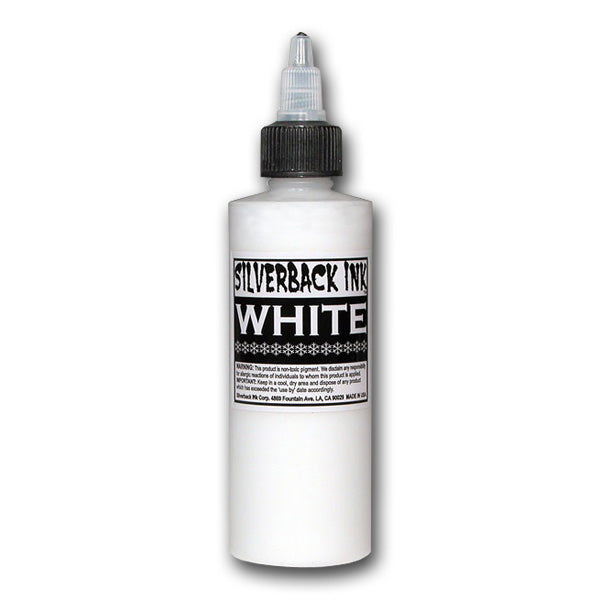 Silverback White - 120ml- 4oz