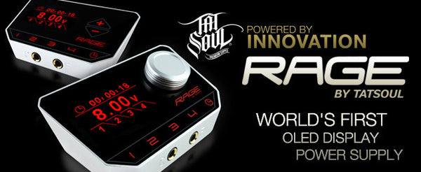 TATSOUL RAGE  - TOUCH SCREEN - CONTINUOUS