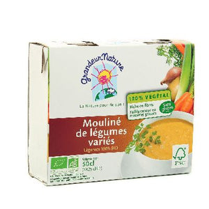 MOULINE LEGUMES VARIES 2*25CL
