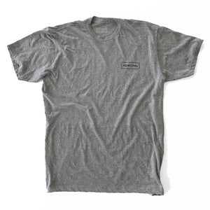 Municipal Origins Tee - Heather Grey