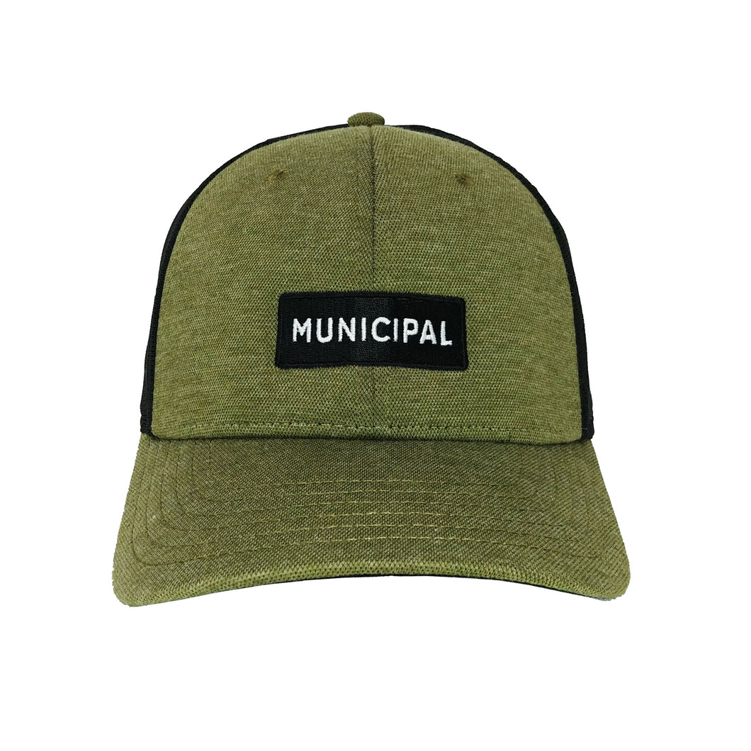 Municipal Civil Cap - Olive