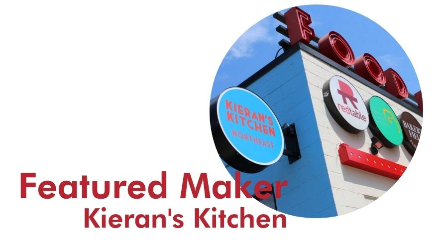 Featured Maker, Kieran's Kitchen