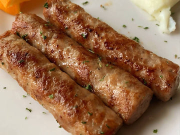 Wildrice Mushroom Breakfast Sausage Links