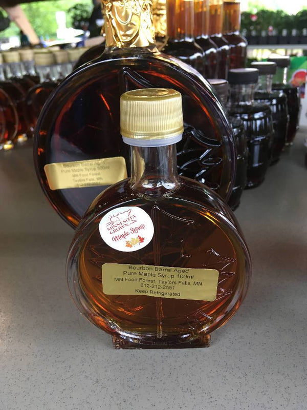 Bourbon barrel Aged Pure Maple Syrup - 100ml