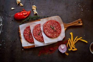 Ground Beef Patties (10 pkgs, three 1/3 patties per pkg)