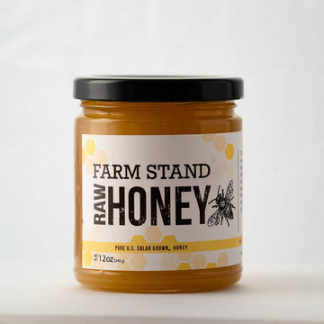 Farm Stand Honey | 12 oz Glass Jar