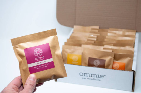 Ommie Snacks: 27-bar Variety Pack Free Shipping