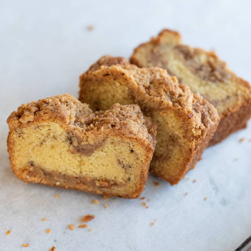 Cinnamon Walnut Coffee Cake | Full of Half Loaf