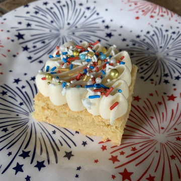 Frosted Sugar Cookie Bar