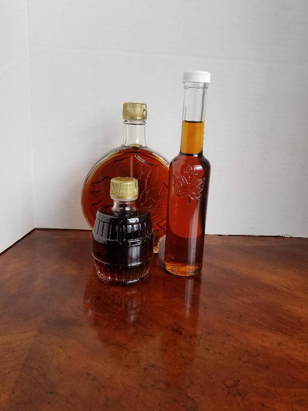Bourbon Barrel Aged Pure Maple Syrup - 200ml