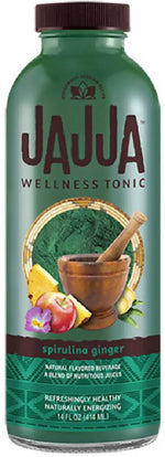12 PACK - Spirulina Ginger Wellness Tonic