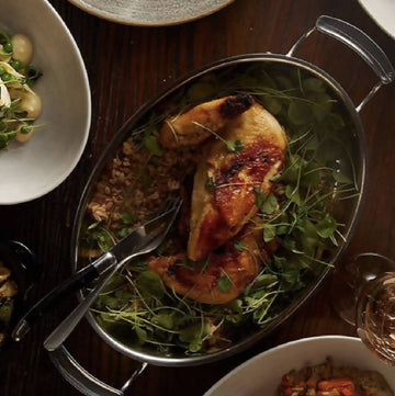 Take Lynhall Home: Whole Roasted Chicken (GF) (Serves 4) | Ala Carte Mains