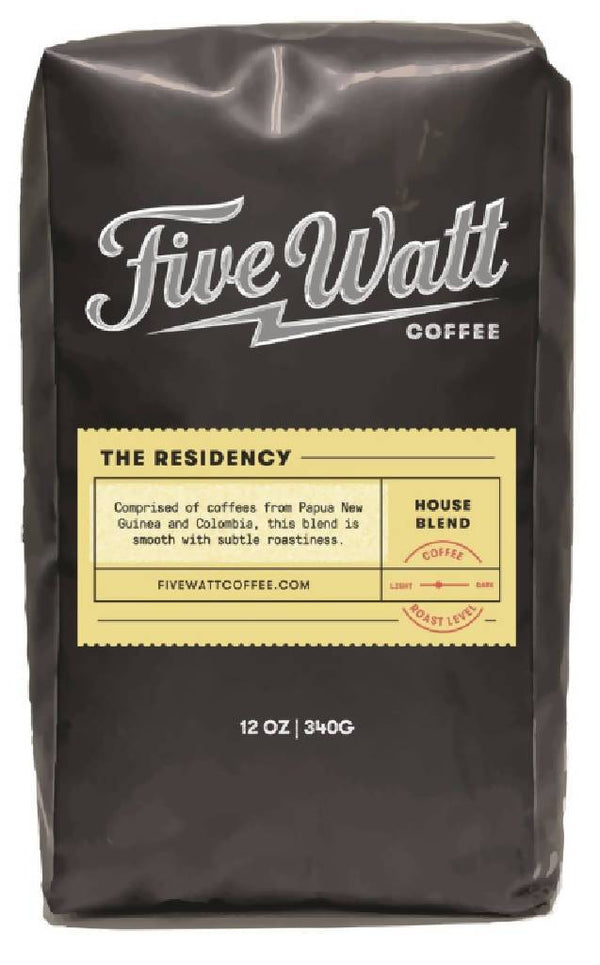 The Residency House Blend Coffee (Whole Bean)