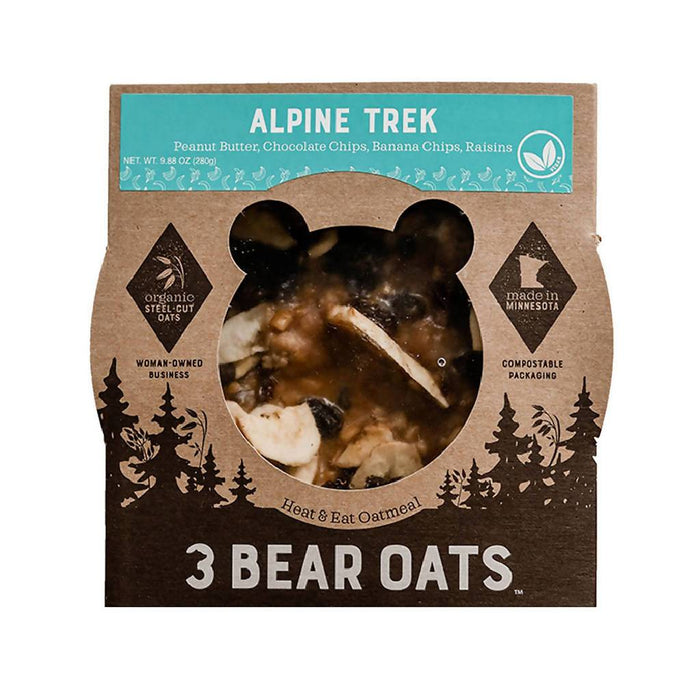Steel-Cut Oat Bowl, Alpine Trek | Heat & Eat, 9.88 oz