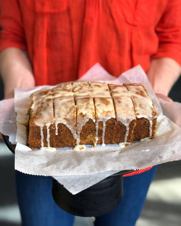 Orange Poppyseed Quick Bread w/ Orange Glaze | Full or Half Loaf