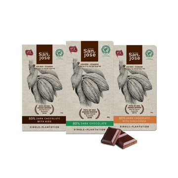 Abssorted 80% Dark Chocolate Bar Hacienda San Jose_3_pack