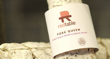 Pork Queen, Black Pepper & Garlic Salami| Red Table Meats