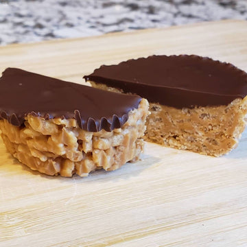 Peanut Butter Krispie Treats from The Bakerz Dozen