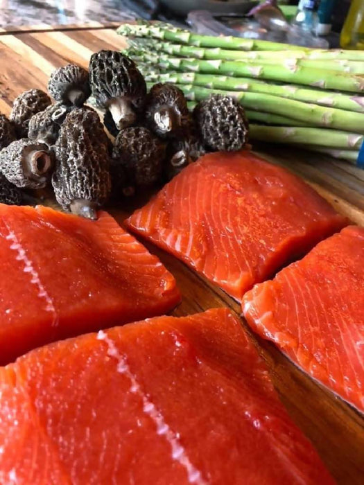 Wild Caught Sockeye Salmon, Free Shipping
