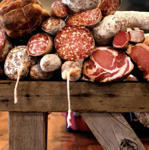 The Vecchio, Saucisson Sec Style Salami | Red Table Meats