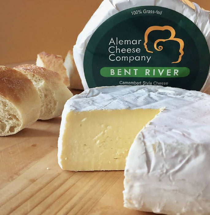 Bent River Camembert, Flagship Cheese | Alemar Cheese Co | 13 oz