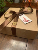 Chocolate Decadent Gift Box | Fudge, Bars, Pouch & Recipes | Single Origin, Rainforest Certified